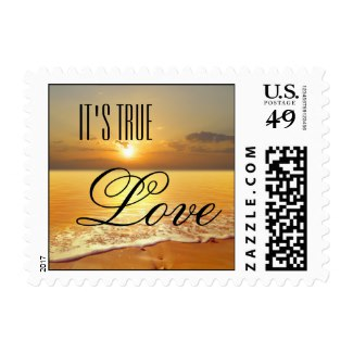 Seal it with love – romantic wedding postage ideas