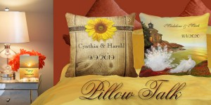 Pillow Talk – for wedding and anniversary