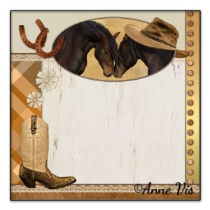 Country and western horse themed wedding collection