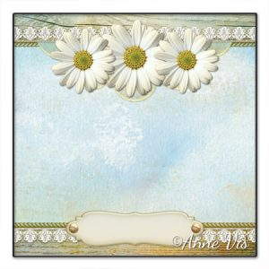 Rustic daisy floral wedding collection