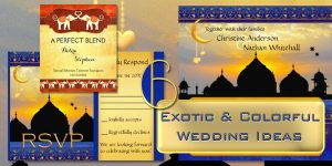 Exotic and Colorful Wedding Ideas