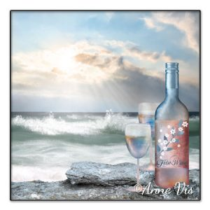 Beach and wine wedding collection