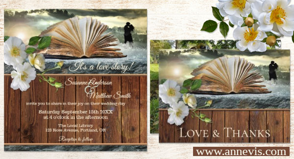 Wedding for Book Lovers