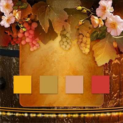 Vineyard Winerey Wine Wedding Color Palette