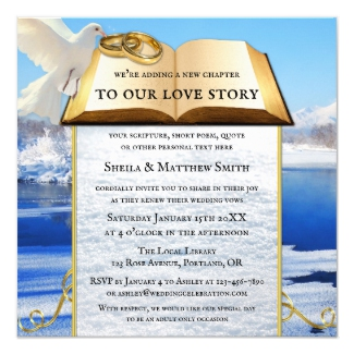 Winter Love Story Literary Library Wedding Collection