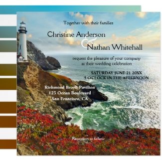 Colorful Wedding Art Lighthouse Collection