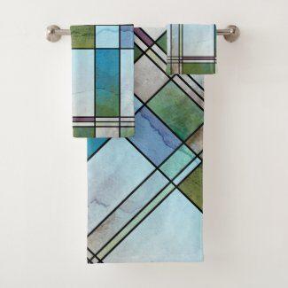 Autumn Tree Lake View Bridal Shower Invitation