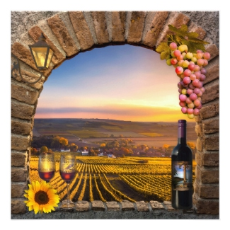Classic Romantic Vineyard Winerey Wedding Collection