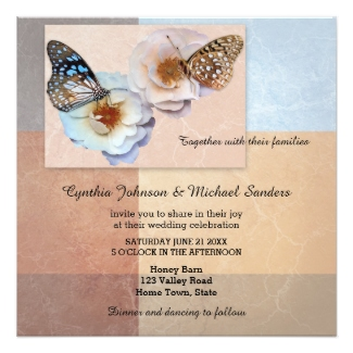 modern artistic butterfly wedding collection
